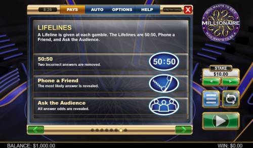 Who Wants To Be A millionaire Megaways review on Big Bonus Slots