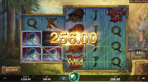 Wicked Tales Dark Red Big Bonus Slots Multiple winning paylines