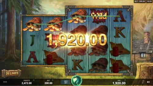 Wicked Tales Dark Red Big Bonus Slots Multiple winning paylines triggers a big win