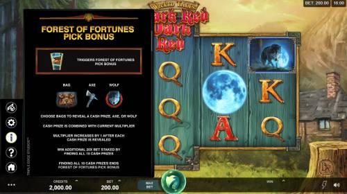 Wicked Tales Dark Red Big Bonus Slots Bonus Game Rules