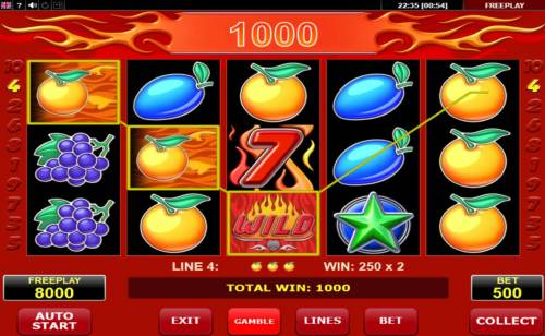 Wild 7 Big Bonus Slots A winning Three of a Kind