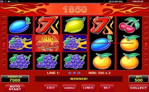 Wild 7 Big Bonus Slots Multiple winning paylines
