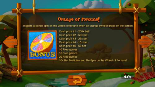 Wild Cherry Big Bonus Slots Feature Rules