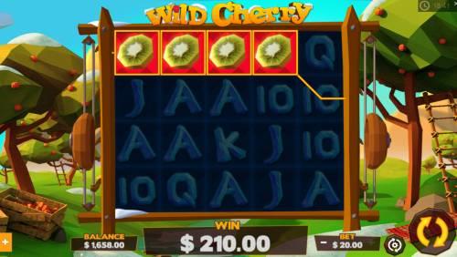 Wild Cherry Big Bonus Slots A winning four of a kind