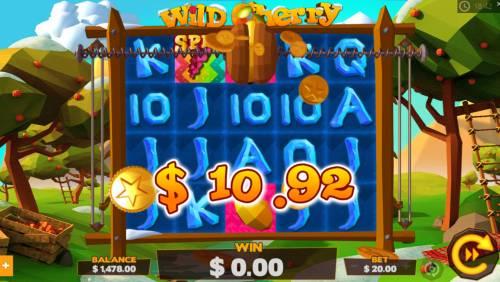 Wild Cherry Big Bonus Slots Feature triggered