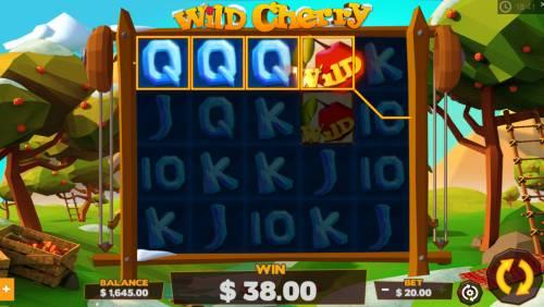 Wild Cherry Big Bonus Slots Four of a kind
