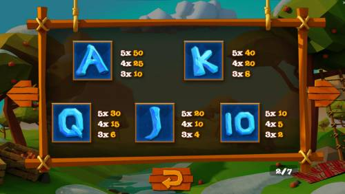 Wild Cherry Big Bonus Slots Low Value Symbols