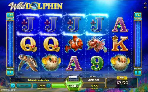 Wild Dolphin Big Bonus Slots Four of a kind