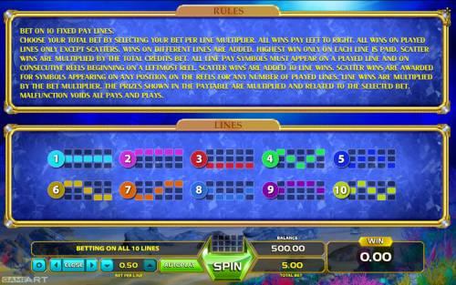 Wild Dolphin Big Bonus Slots General Game Rules
