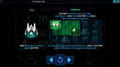 Wild Galaxy review on Big Bonus Slots