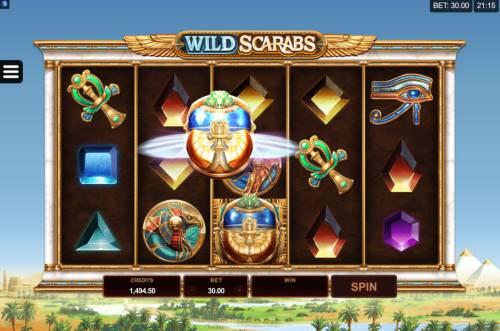 Wild Scarabs review on Big Bonus Slots
