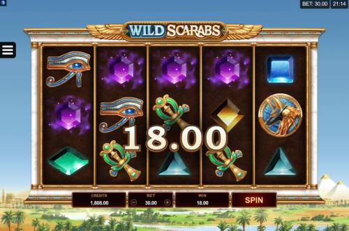 Wild Scarabs review on Big Bonus Slots