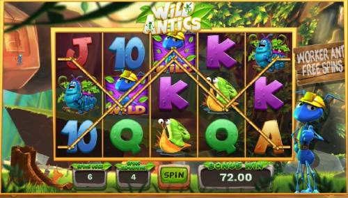 Wild Antics review on Big Bonus Slots