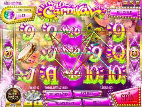 Wild Carnival review on Big Bonus Slots