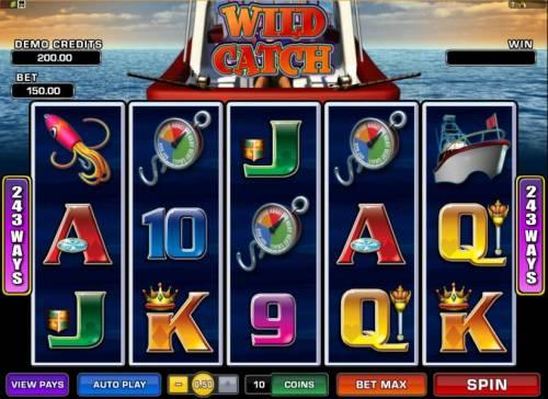 Wild Catch review on Big Bonus Slots