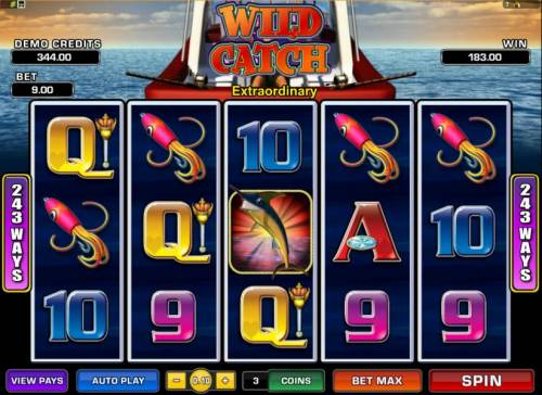 Wild Catch review on Big Bonus Slots