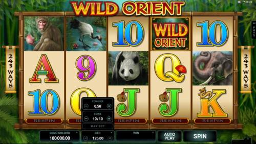Wild Orient review on Big Bonus Slots