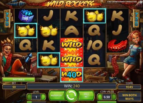 Wild Rockets review on Big Bonus Slots