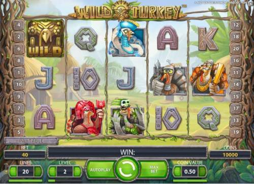 Wild Turkey review on Big Bonus Slots