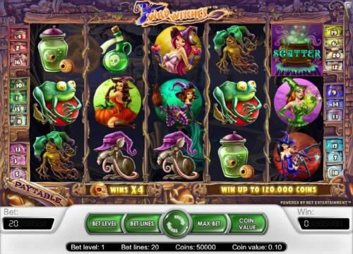 Wild Witches review on Big Bonus Slots