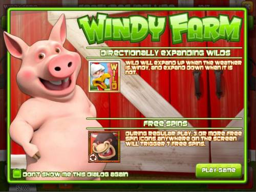 Windy Farm review on Big Bonus Slots