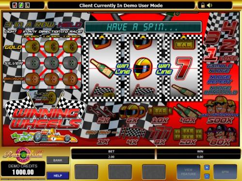 Winning Wheels review on Big Bonus Slots