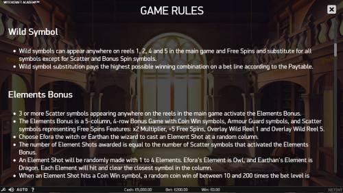 Witchcraft Academy review on Big Bonus Slots