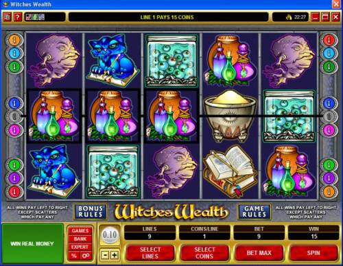 Witches Wealth review on Big Bonus Slots