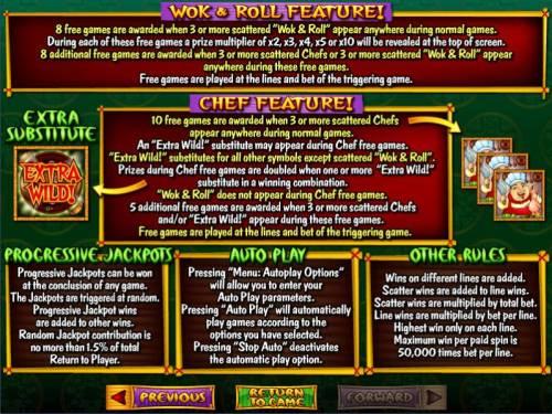 Wok & Roll review on Big Bonus Slots