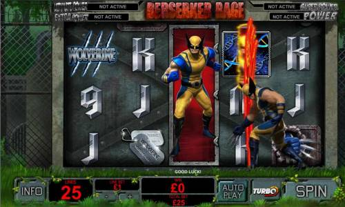 Wolverine review on Big Bonus Slots
