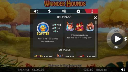 Wonder Hounds review on Big Bonus Slots