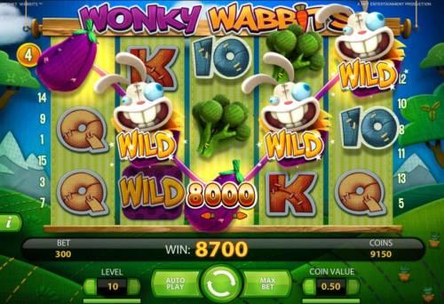Wonky Wabbits review on Big Bonus Slots