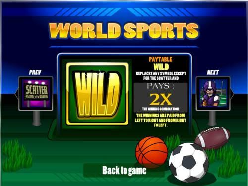World Sports review on Big Bonus Slots