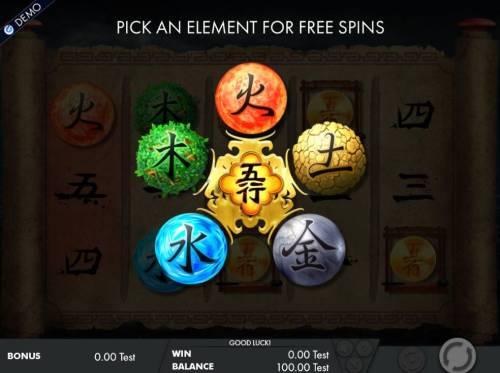 Wu Xing review on Big Bonus Slots