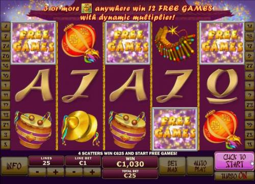 Wu Long Big Bonus Slots Free games feature triggered