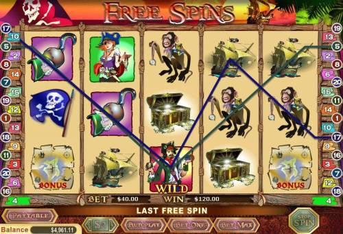 X Marks The Spot review on Big Bonus Slots