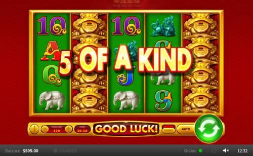 Xing Yun Jin Chan Big Bonus Slots Five of a Kind