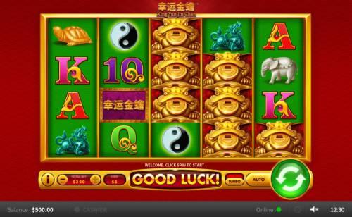 Xing Yun Jin Chan Big Bonus Slots Main Game Board