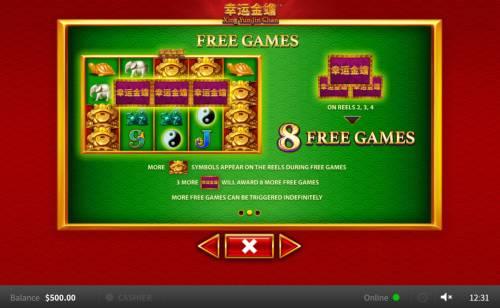 Xing Yun Jin Chan Big Bonus Slots Free Game Rules
