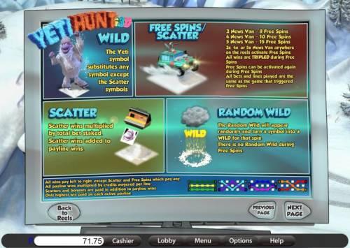 Yeti Hunt i3D review on Big Bonus Slots