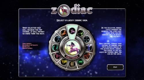 Zodiac review on Big Bonus Slots