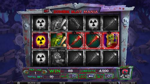 Zombie Slot Mania review on Big Bonus Slots